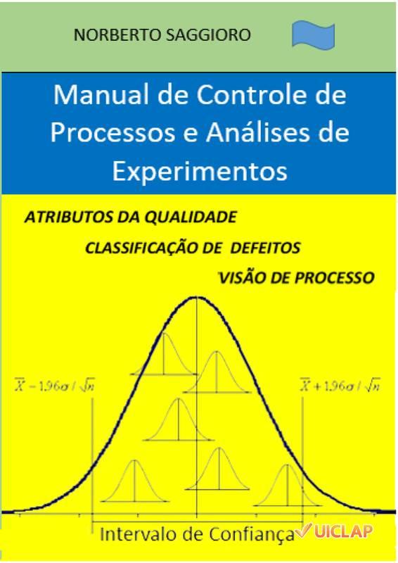 Manual de Controle de Processos e Análises de Experimentos