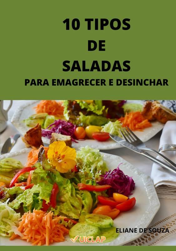 10 TIPOS DE SALADAS PARA EMAGRECER