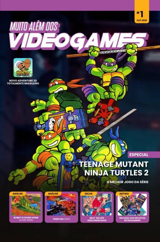 Revista Muito Além dos Videogames 1