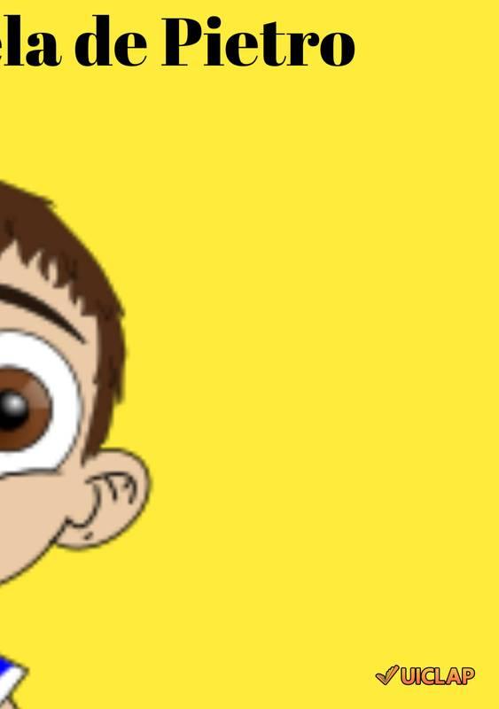 A bola amarela de Pietro