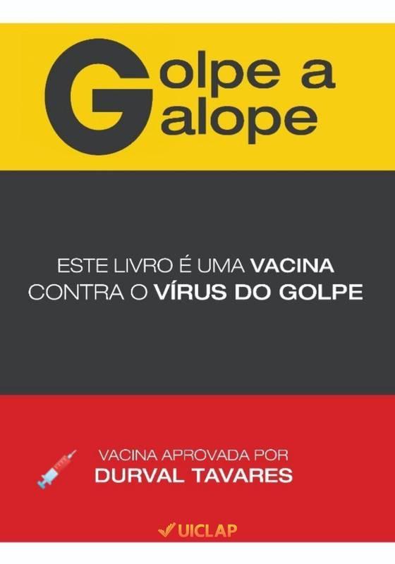 GOLPE A GALOPE LIVRO-VACINA