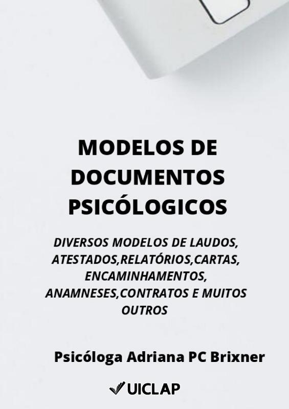 Modelos de Documentos Psicólogicos