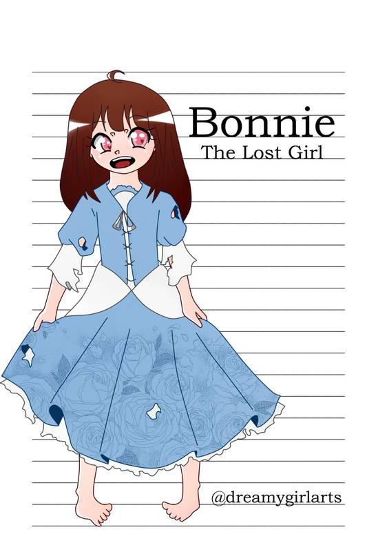 Caderno dreamygirlarts: Bonnie, A Garota perdida. Bonnie