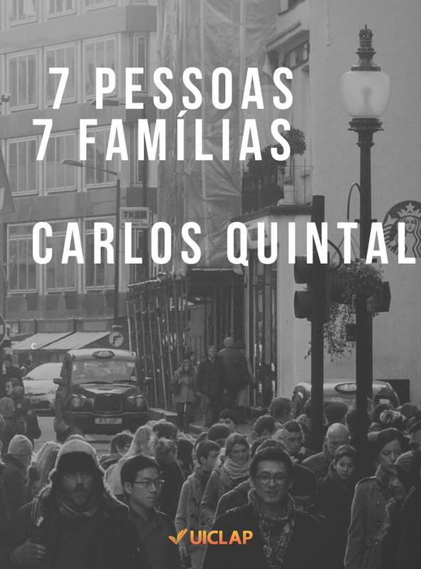 7 PESSOAS 7 FAMÍLIAS
