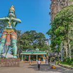 Batu Caves, templo hindú en las montañas de Kuala Lumpur