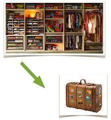 del armario a la maleta