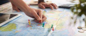 Itinerario previsto para la Vuelta al Mundo