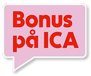 bonus hos ICA Foto