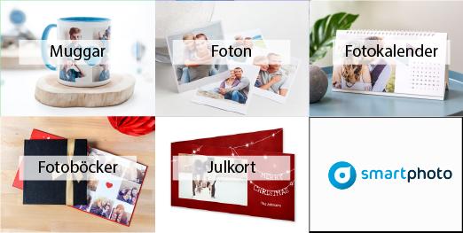 smartphoto produkter