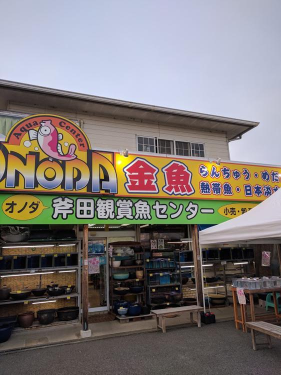 斧田観賞魚センター