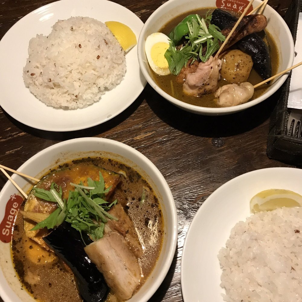 Soup Curry & Dining Suage+ (すあげ soup curry&dining suage+) - メイン写真: