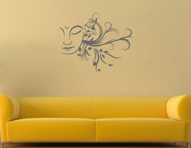 Plant of Buddha Wall Sticker