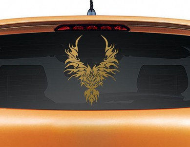 Rise from the Ashes Car Sticker