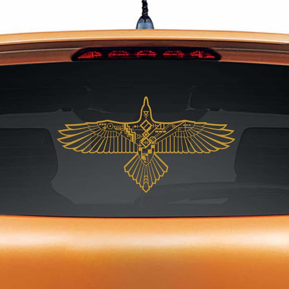 Cruise Control Copper Rear Car Sticker