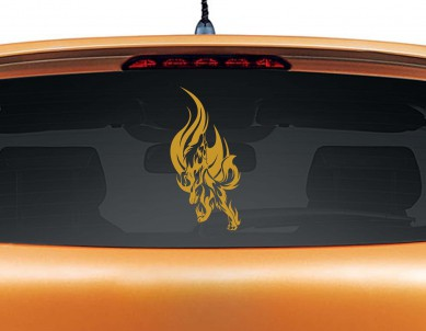 Wolverine Howl Car Decal