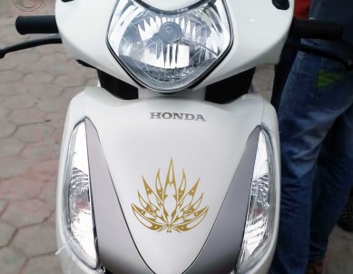 Tribal Mary Jane Decals For Motorcycle