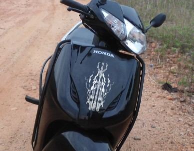 Circuit Breaker Bike Body Sticker