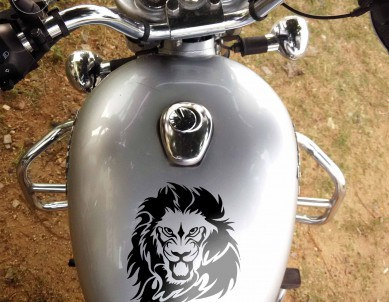 Lion Style Fancy Stickers For Bikes