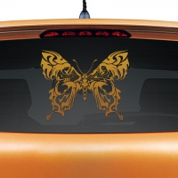 Heavens Bells Copper Rear Car Sticker