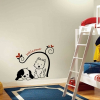 My Doggy Friends Kid room decal