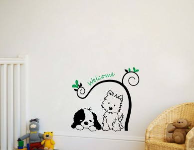 My Doggy Friends Wall Sticker