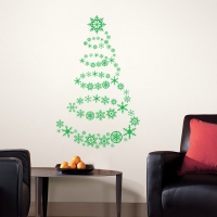 Ice Crystal Tree Living room sticker