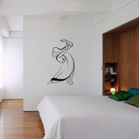Dancing couple Bedroom decal