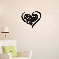 Boom Boom Heart Living room sticker