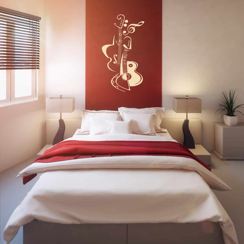 Guitar Bedroom2 sticker