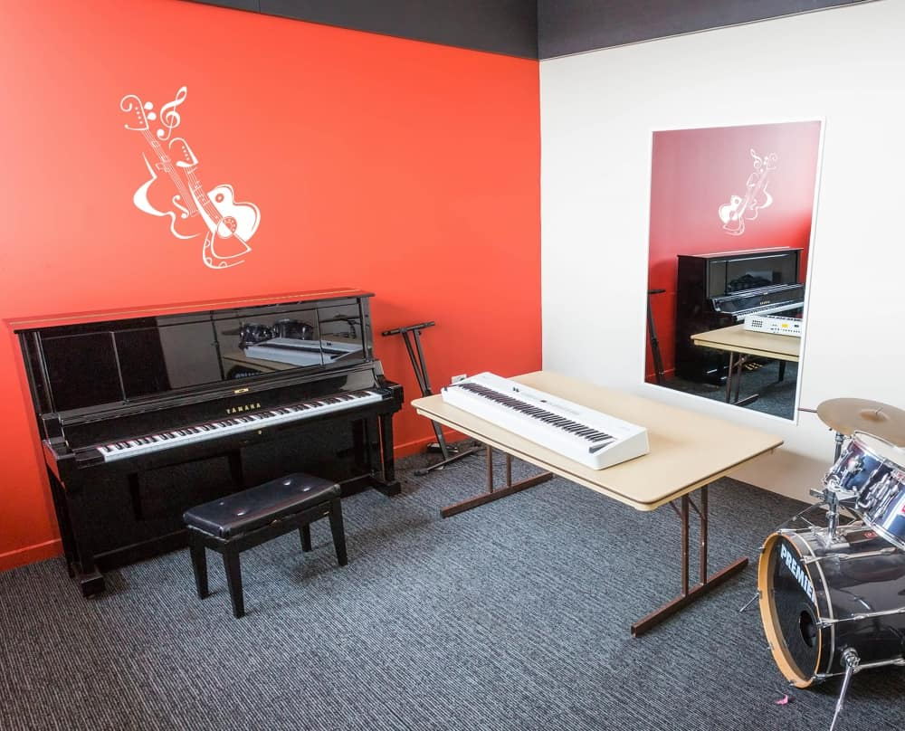 Guitar Instruments room decal