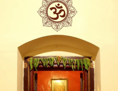Artistic OM Wall Sticker