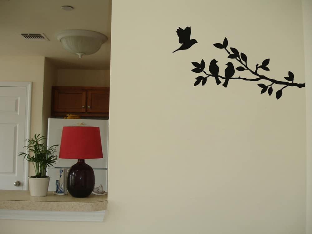 Small Branch Universal room sticker