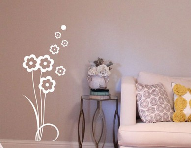 Little Flowers Wall Sticker