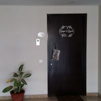 Welcome Home Door4 room sticker