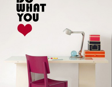 Do What you Love 2 Wall Sticker