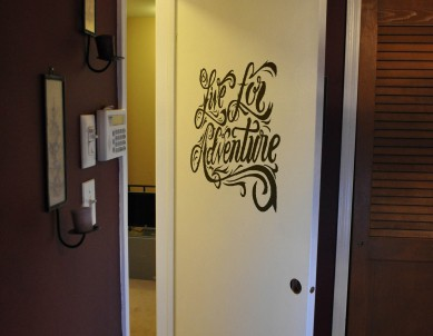 Live for Adventures Wall Sticker