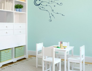 Reach for the Moon Wall Sticker
