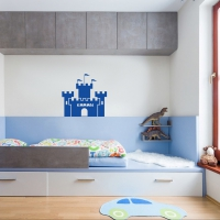 Strong like a Fort Kids2 room sticker