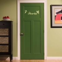 Fairy Word Kid3 room decal