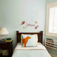 Fairy Word Kid4 room sticker