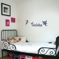 Fairy Word Kid6 room decal