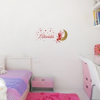 Fairy Shower Kid2 room sticker