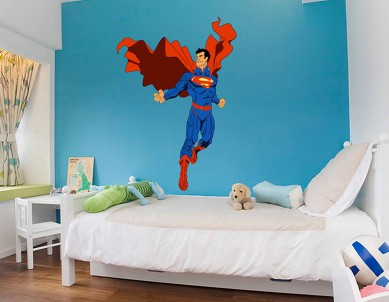 Superman Wall Sticker
