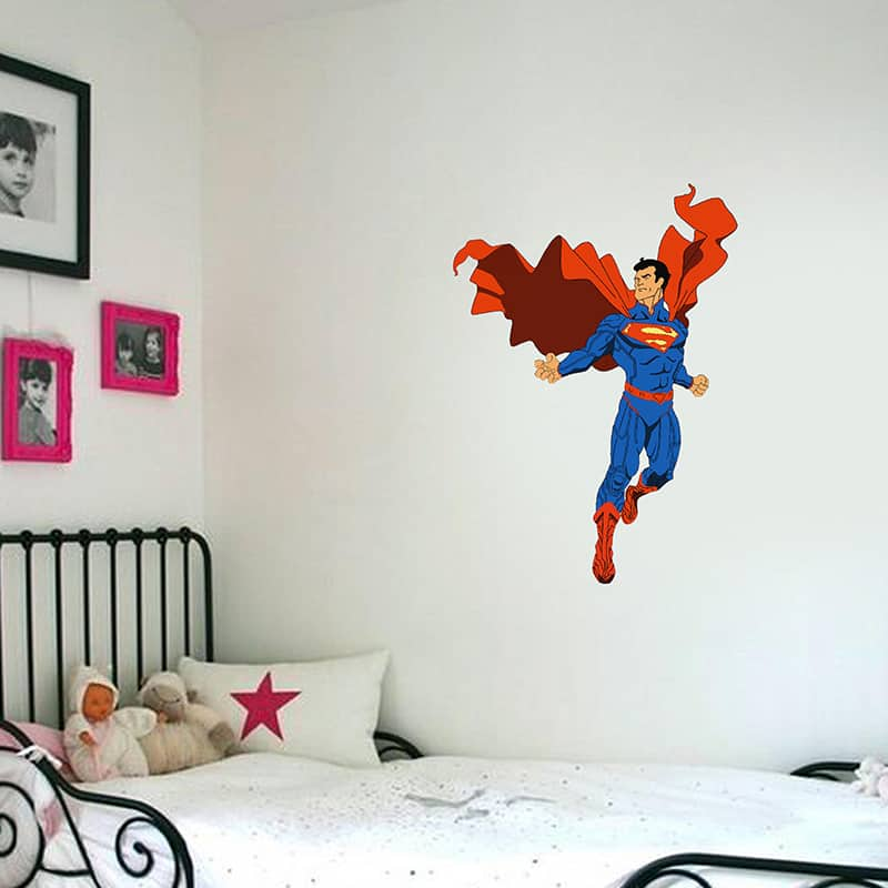 Superman Kids room sticker