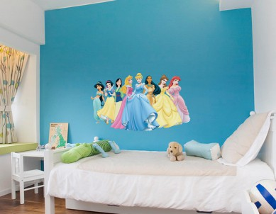 All Disney Princess Wall Sticker