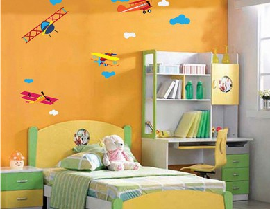 Aeroplanes Wall Sticker
