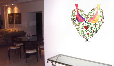 45 Wall Sticker Ideas To Open Up Your Soul Through The Windows Of Love