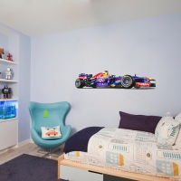 F1 car YoungKid room decal