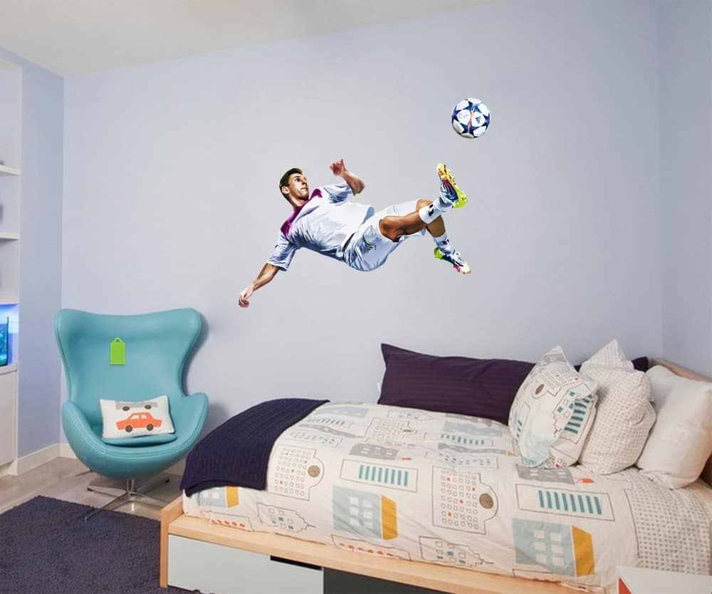Messi oil Paint YoungKid room decal