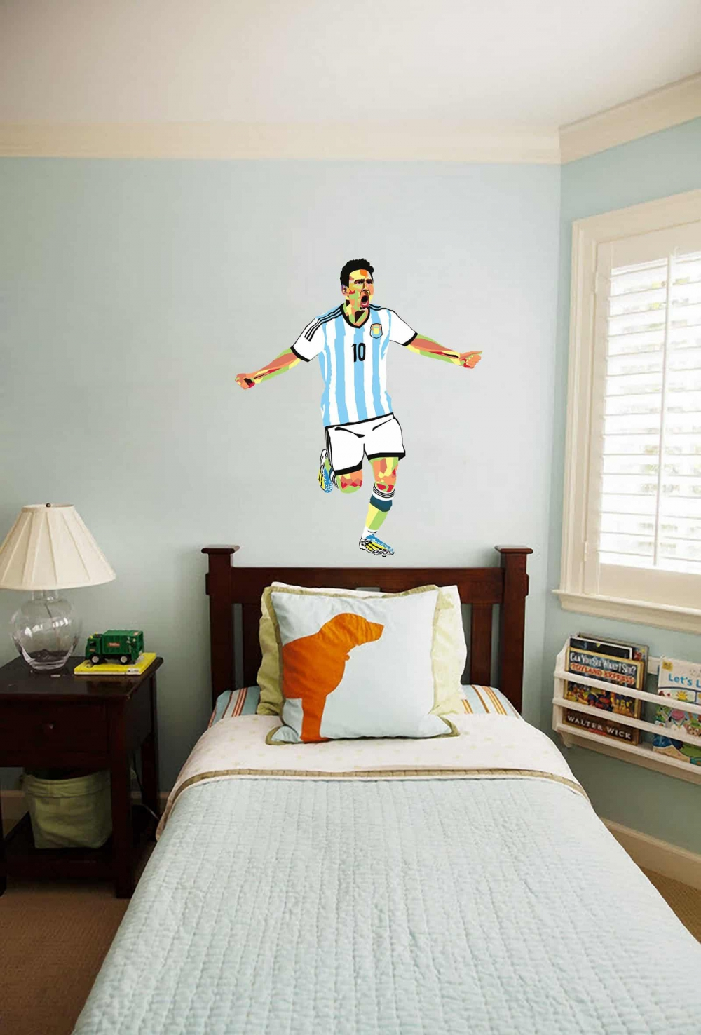 Come on Messi Teen room decal